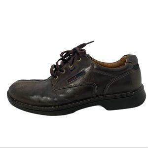 ECCO Bicycle Toe Brown Casual 12-12.5 Oxford